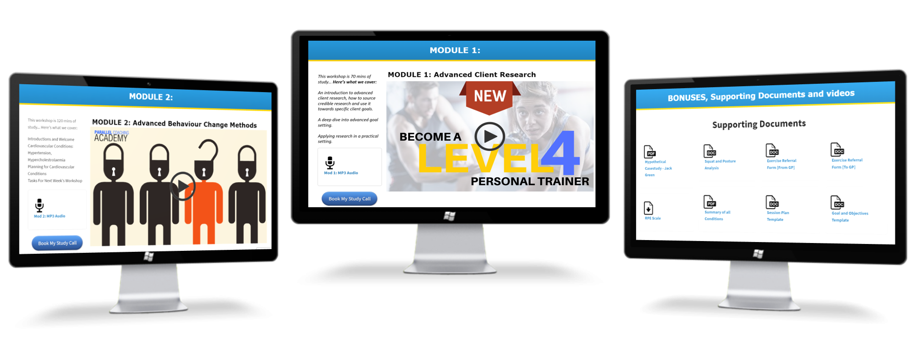 412ccf744f4 When does the course start  The Level 4 Advanced Personal Trainer can be  started anytime with instant and lifetime access to the Parallel Coaching  Academy.